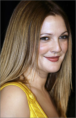 Drew Barrymore tracked down a hit-and-run driver Monday.