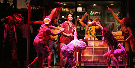 The musical In the Heights horded the most Tony nominations with 13.