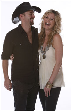 'Hooky': Kristian Bush and Jennifer Nettles.