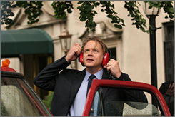 Make it stop: Tim Robbins is a New Yorker who tries to cope with the overpowering sounds of the city.