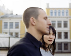 Quarterlife crises: Anders Danielsen Lie and Viktoria Winge are among a group of twentysomethings grappling with the passage to adulthood.