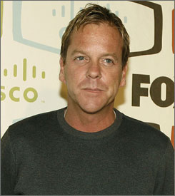 Keifer Sutherland stars in Fox's hit series, 24.