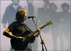 Pink Floyd's Roger Waters performs at the 2008 Coachella Festival in Indio, Calif.