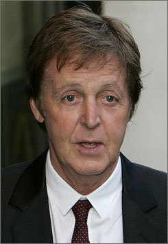 Paul McCartney was awarded an honorary doctorate in music from Yale University.