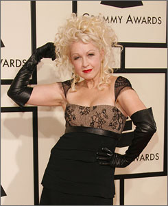 Cyndi Lauper is taking a cue from Madonna and hitting the dance floor hard on Bring Ya To the Brink.