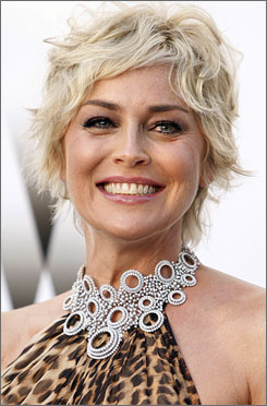 After Sharon Stone's comments about the Chinese earthquake being the possible result of karma for the government's Tibet policy, she's not welcome at this year's Shanghai International Film Festival.