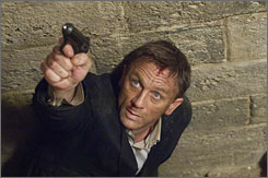Expected to wrap up soon: Daniel Craig's James Bond thriller Quantum of Solace is nearly done.