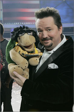 Last year's America's Got Talent winner Terry Fator is writing an autobiography, Who's the Dummy Now?