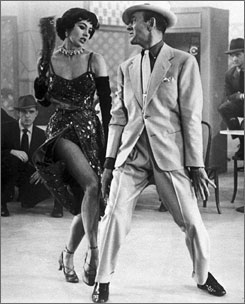 "The Band Wagon: ""We got away with murder in those days, because it was dance,"" said Cyd Charisse, performing with co-star Fred Astaire."