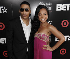 Nelly and Ashanti were among the guests who attended a private dinner on Monday in celebration of the BET Awards.