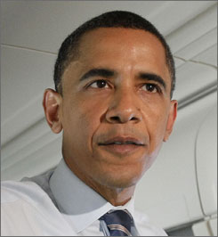 Barack Obama, the Democratic presidential contender, listens to everything from the Rolling Stones to Sheryl Crow.