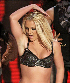 An MTV exec says the network may give Britney Spears a second chance to improve on last year's out-of-it Video Music Awards performance.