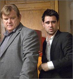 Exile with partner: Hit men Brendan Gleeson, left, and Colin Farrell.