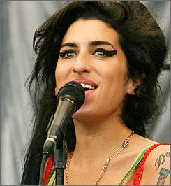 Amy Winehouse closed out Nelson Mandela's birthday concert with a cover of The Specials' 1984 tune Free Nelson Mandela.