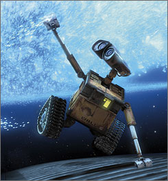 High hopes: WALL-E has already impressed critics, audiences.