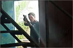Bang-bang: Jeffrey  Donovan plays former CIA  agent Michael Westen  in USA's Burn Notice.