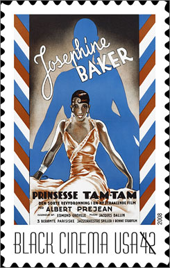 The U.S. Postal Service will issue Vintage Black Cinema stamps on Wednesday.