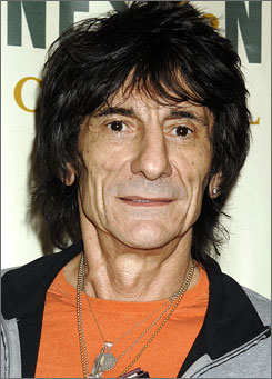 Ronnie Wood is headed for rehab to deal with a drinking relapse. The Rolling Stones guitarist has fought alcholism throughout his career.