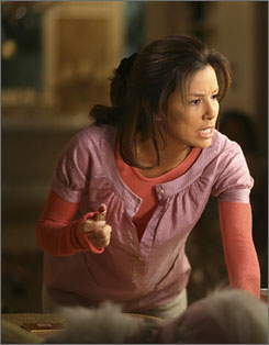 "Gaby: Eva Longoria Parker was ""OK"" with a not-so-glam look."