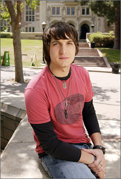 """Scott Michael Foster, who plays """"Cappie"""" on the television program  Greek was arrested at 12:20 a.m. Monday for misdemeanor drunken driving."""