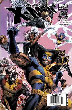 Happy 500th: Wolverine and friends celebrate a milestone.