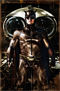 Everyone's watching for this one: Patrick Wilson as Nite Owl II in The Watchmen.