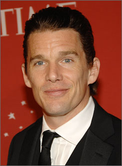 Ethan Hawke has starred in films such as Before Sunset,Training Day and Dead Poet's Society.