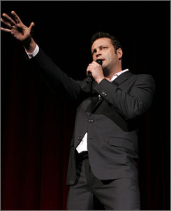 Vince Vaughn has starred in films such as The Break-up,Wedding Crashers and Dodgeball.