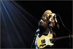 Tom Petty: The singer/songwriter/guitarist and his Heartbreakers closed out Saturday night with some early classics.