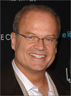 Kelsey Grammer is best known for his role as a hapless psychiatrist in the Emmy-winning show Frasier.
