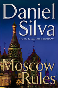 Daniel Silva: Moscow Rules tops USA TODAY's book list.