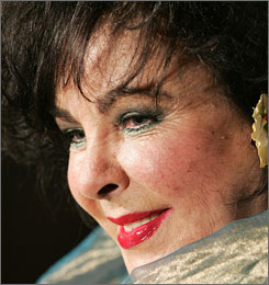 Elizabeth Taylor is in the hospital, but expects to leave shortly, according to her representatives.