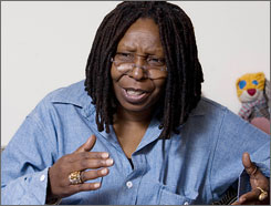 Whoopi Goldberg is spending her time off from The View  performing in the Broadway musical Xanadu.