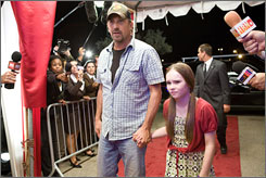 His pick: Kevin Costner, with Madeline Carroll, holds deciding vote.