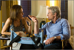 No limits: Producer Denise Di Novi works on Nights in Rodanthe with Richard Gere, but she gets in on guy flicks, too.