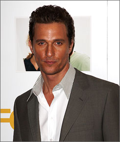 Matthew McConaughey plans to plant the placenta from his son's birth in July in an orchard.