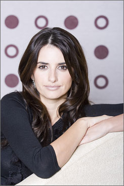 In the spotlight: Penelope Cruz stars in Elegy and Woody Allen's Vicky Cristina Barcelona, both of which arrive Friday. Her career has been in an upswing since Volver in 2006.