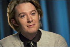 """The little man is healthy, happy, and as loud as his daddy,"" Clay Aiken said. ""Mama Jaymes is doing quite well also."""