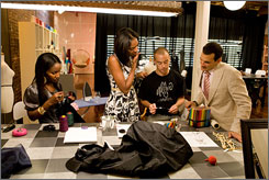 VH1's Glam God: Fashion stylists compete for the title and $100,000. Top stylist Phillip Bloch, right, is a judge.