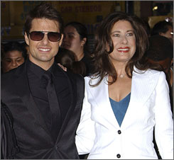 Tom Cruise and Paula Wagner at a May screening for Mission: Impossible III in Los Angeles.