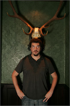 A Southern ham: Comedian and actor Danny McBride got his start with The Foot Fist Way, a low-budget movie he made with some film-school friends.