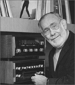 Music legend: Jerry Wexler worked with many legends of the music business during his long career.