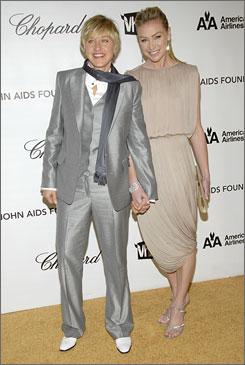 Just married: Ellen DeGeneres and Portia de Rossi
