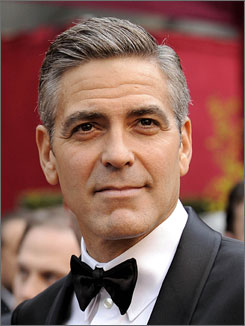 George Clooney stars in Joel and Ethan Coen's CIA comedy Burn After Reading.