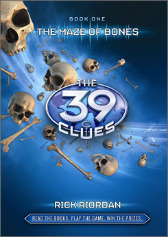 DreamWorks bought the movie rights to Rick Riordan's adventure series The 39 Clues.