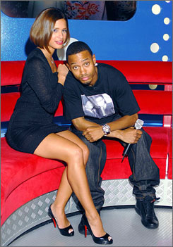 Counting 'em down: Rocsi  and Terrence have co-hosted  the live show since 2006.