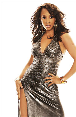 """Never force fashion"": That's advice from Vivica Fox, host   of VH1's Glam God,   a styling contest."
