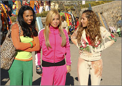 Global appeal: Singing/dancing pals Kiely Williams, left, Sabrina Bryan and Adrienne Bailon.
