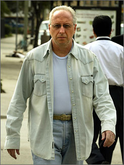 Former private investigator Anthony Pellicano was found guilty of wiretapping investor Kirk Kerkorian on behalf of his ex-wife during a custody battle. He'll be sentenced Sept. 24.