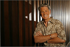 """Smile: Brian Wilson's concept album That Lucky Old Sun arrives Tuesday. """"I always liked that song,"""" he says of the title track, a 1949 hit by Frankie Laine."""